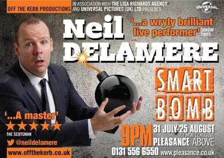 Neil Delamere – Smart Bomb 5 Stars *****