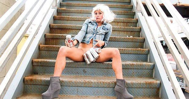 Adrienne Truscott's Asking for It: A One-Lady Rape About Comedy Starring Her Pussy and Little Else! 4 Stars ****
