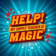 Help! My Supply Teacher Is Magic !  3***