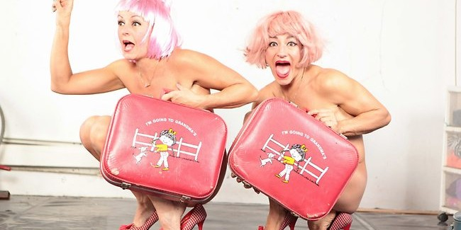 The Wau Wau Sisters Are Naked As The Day They Were Born Again! 4 ****