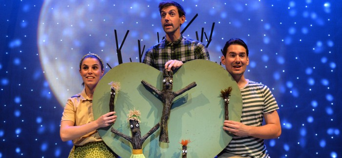 STICK MAN by Julia Donaldson – Scamp Theatre and Watford Palace Theatre  5*****